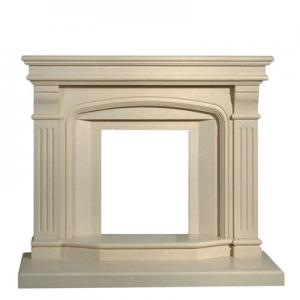 Fireplace Beige Marble