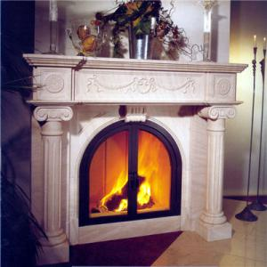 Fireplace Moca Cream